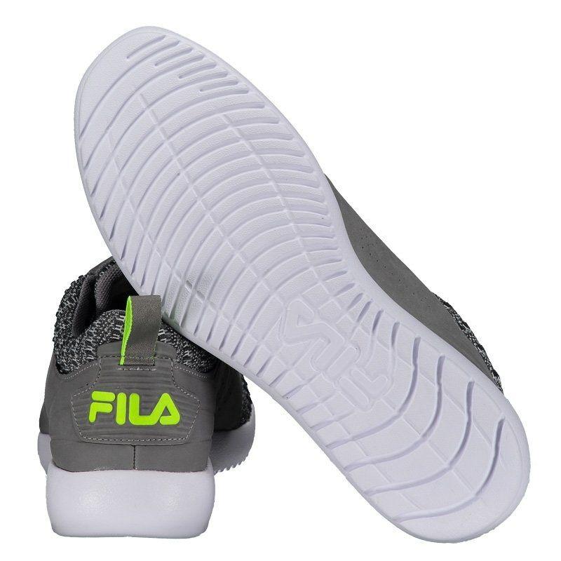 3de589917a Tênis Fila White Rock Se Cinza - R$ 129,90 em Mercado Livre
