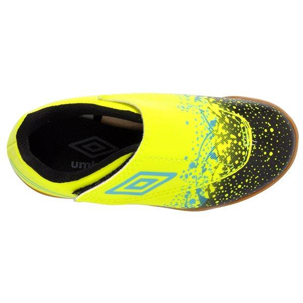 a059137e380 Tênis Futsal Infantil Umbro Wave Of82041 Verde preto azul - R  129 ...