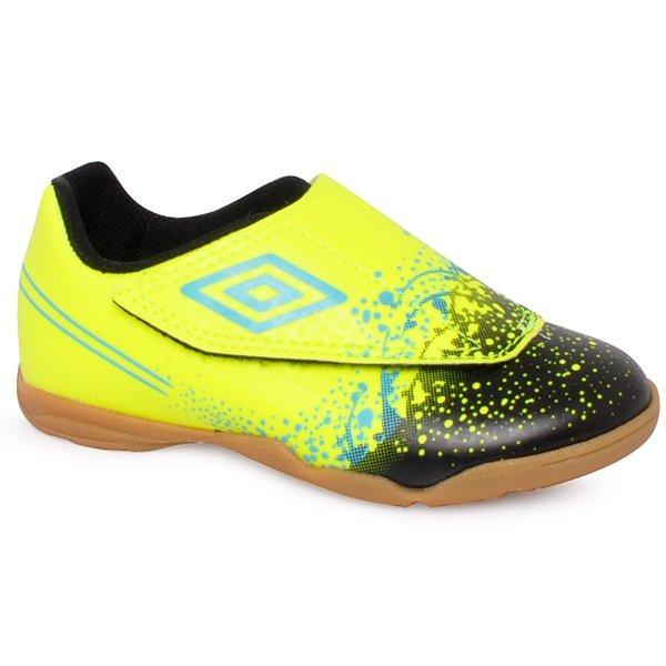 Tênis Futsal Infantil Umbro Wave Of82041 Verde preto azul - R  129 ... 20a7f23d950d7
