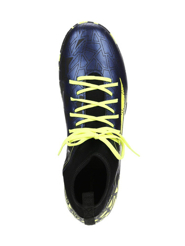 tênis futsal masculino penalty azul marinho/amarelo