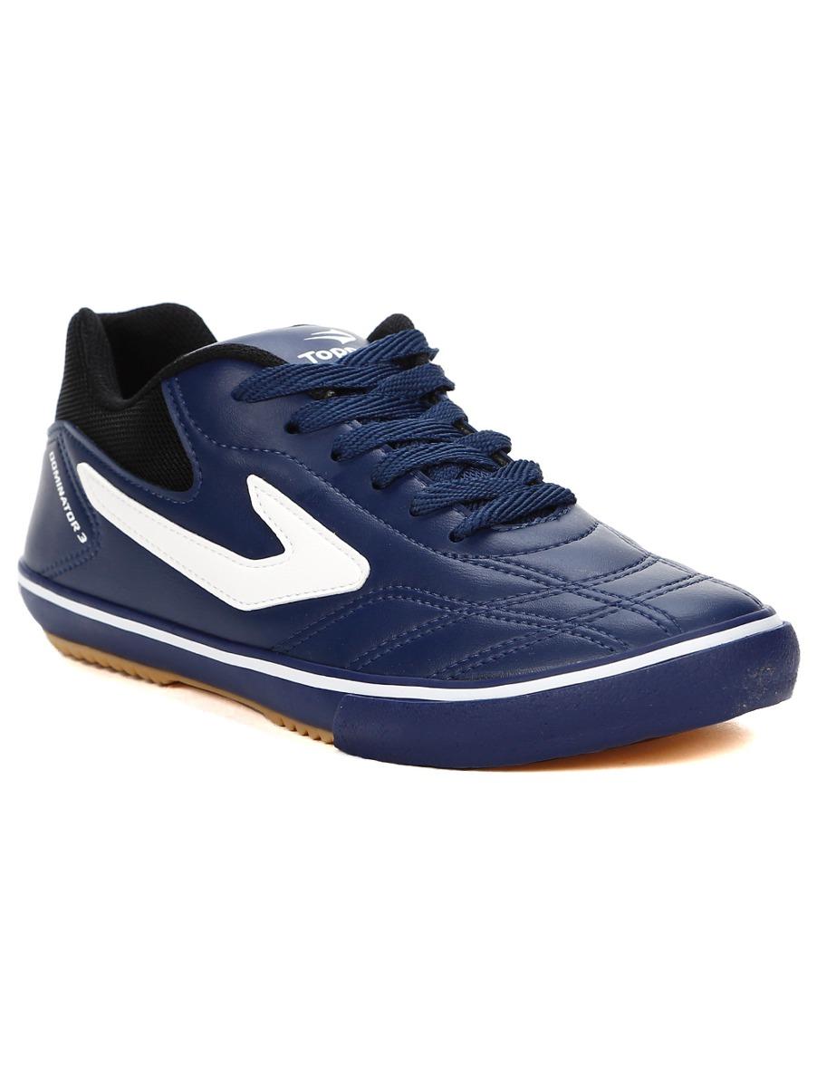 tênis futsal masculino topper dominator iii azul marinho pre. Carregando  zoom. 22374243fb868