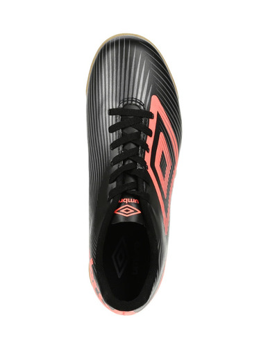 tênis futsal masculino umbro speed ii preto/cinza