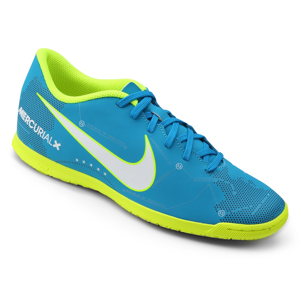 ... laranja preto fd707 9a073 where can i buy tênis futsal nike mercurial  neymar 100 original. carregando zoom. 119c9 low price chuteira ... e201e96fde88c