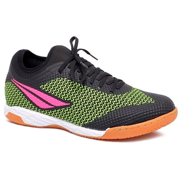 71afb4abc3 Tênis Futsal Penalty Max 500 Ix Ultra Grip Preto/amarelo - R$ 269,90 ...