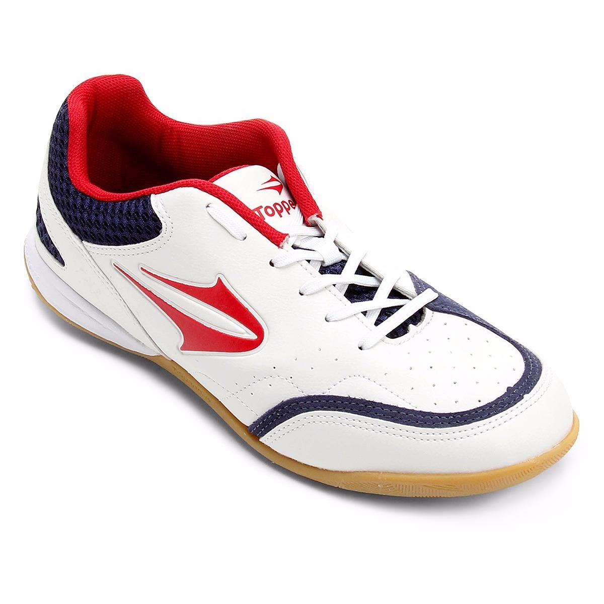 tênis futsal topper maestro masculino futebol de salão top. Carregando zoom. de75902135538