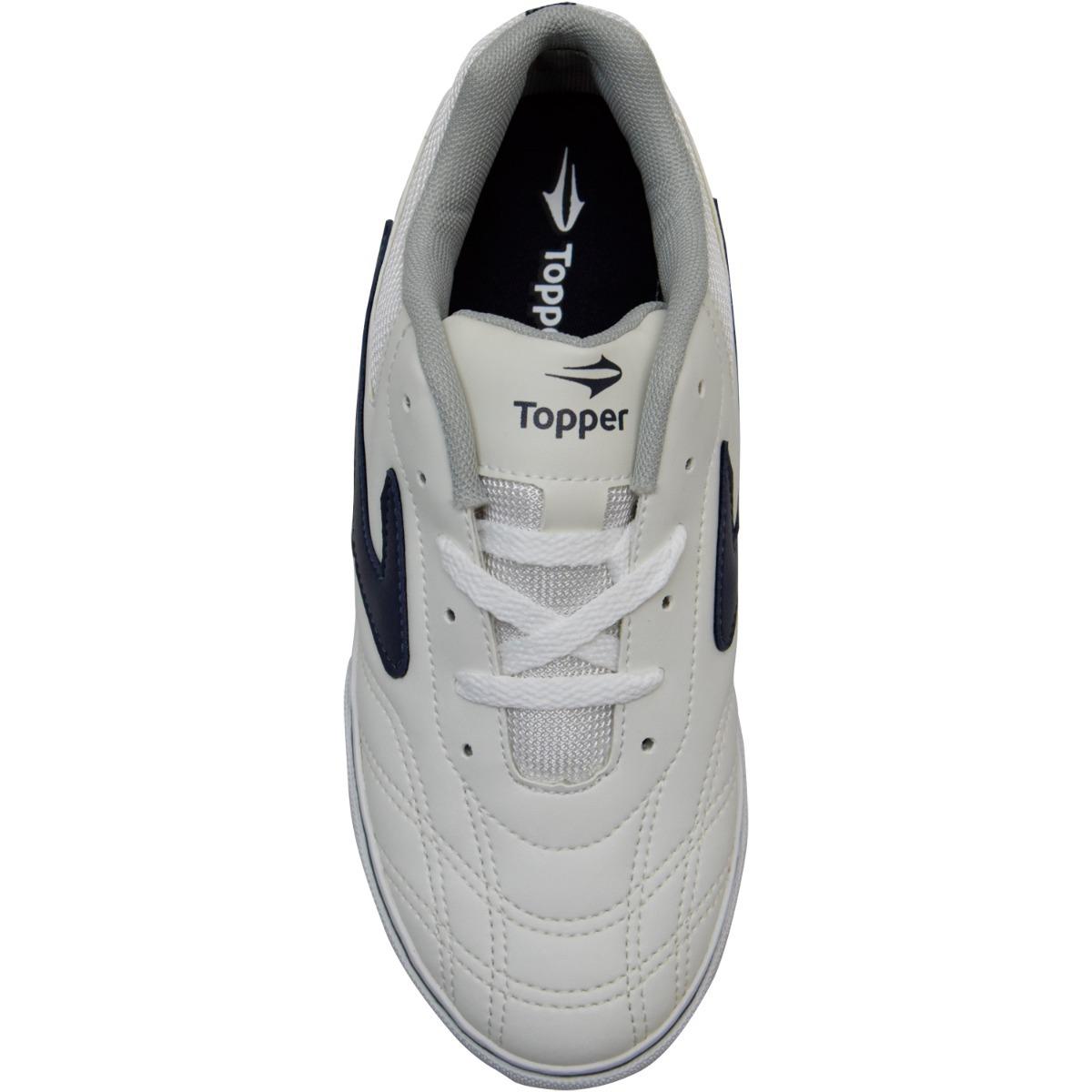 Tênis Futsal Topper Preto   Branco Masculino Feminino Vôlei - R  119 ... c5a3dff9361a1