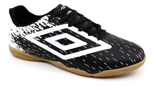 tênis futsal umbro acid 0f72097 preto branco loja pixolé