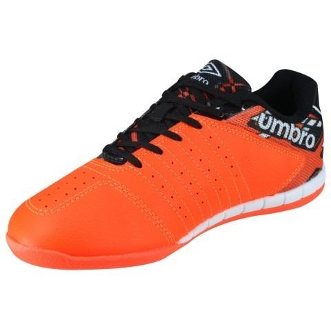 55c9412d8c Tênis Futsal Umbro Diamond Couro + Palmilha Sola Amortecedor - R ...