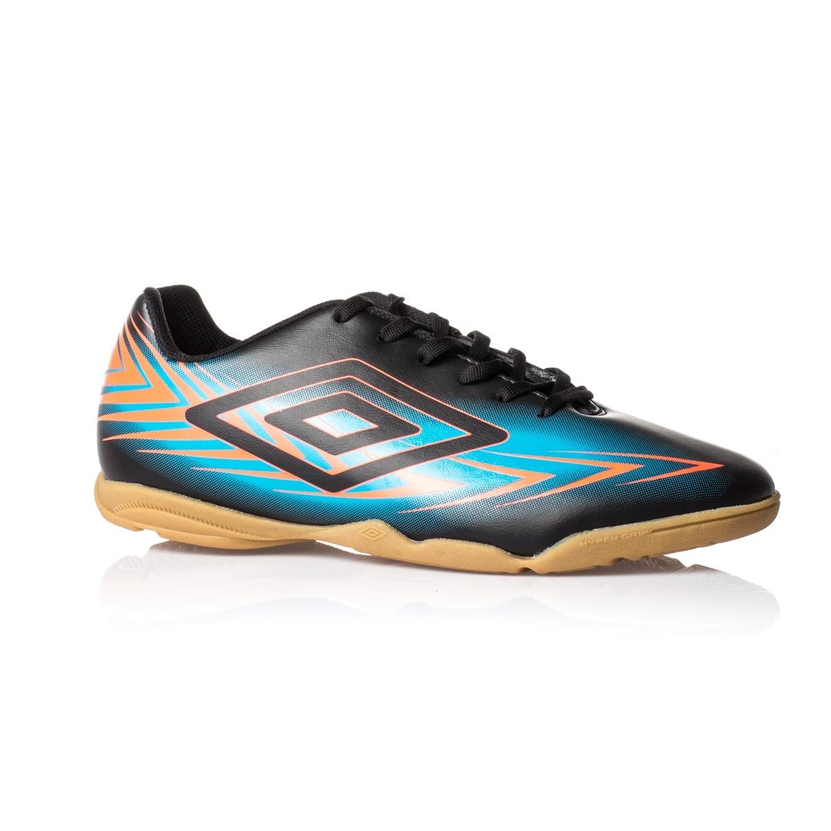 d03fafefaf tênis futsal umbro indoor preto azul coral - frete grátis! Carregando zoom.