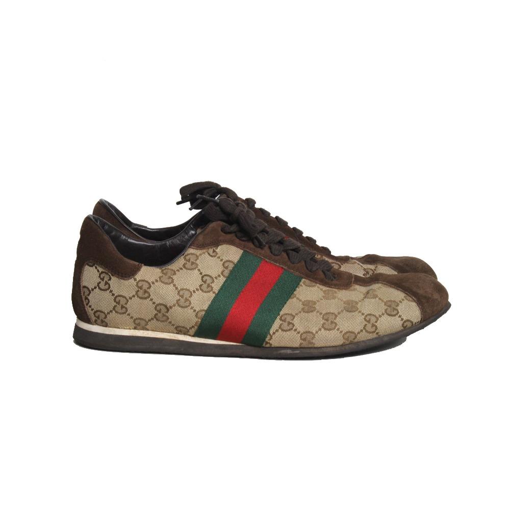 df5237c03 Tênis Gucci Canvas Gucci - R$ 1.090,00 em Mercado Livre