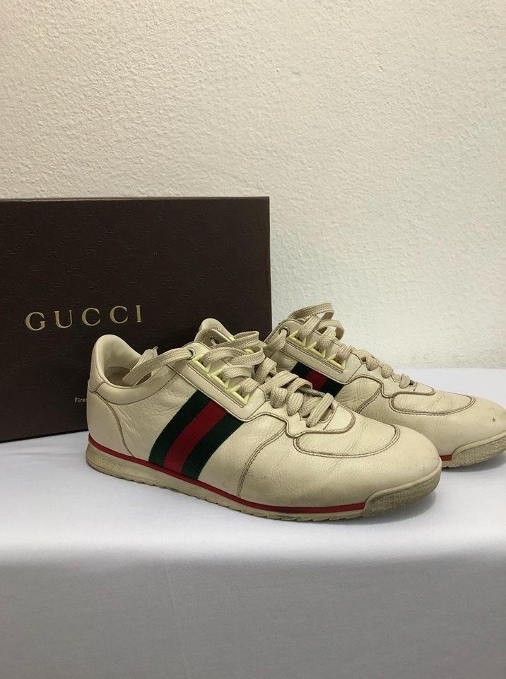 9b324eb71 Tênis Gucci Usado Original Tamanho 40 - R$ 550,00 em Mercado Livre