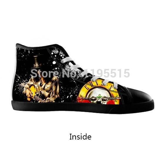 93c32f3d21 Tênis Guns N Roses   Slash - Estilo All Star (importado) - R  260