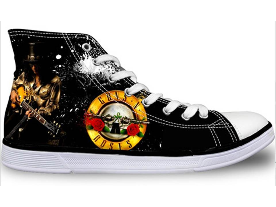 a6cbf9dddab Tênis Guns N Roses   Slash - Estilo All Star (importado) - R  265