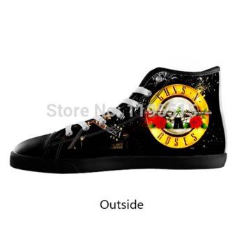 9afd65bc76 Tênis Guns N Roses   Slash - Estilo All Star (importado) - R  265