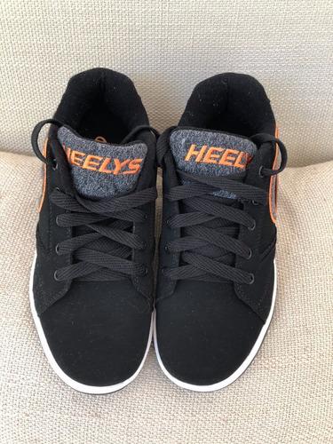tênis heelys com rodinhas infantil, semi novo