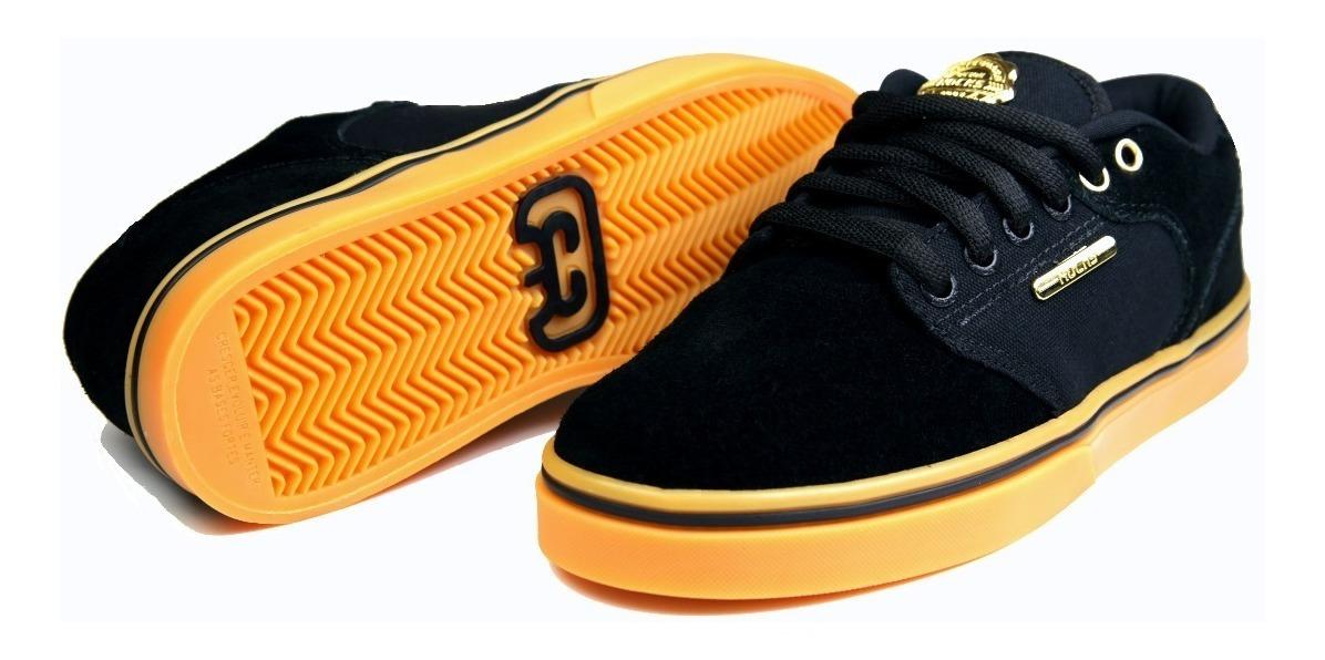 dcc4871c55 tênis hocks de skatista montreal black/gun preto e dourado. Carregando zoom.