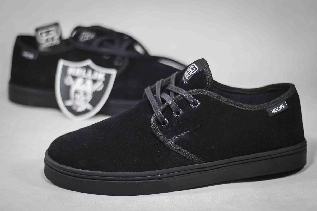 ad0f9d8ae tênis hocks del mar lite black premium sneaker suede skate. Carregando zoom.