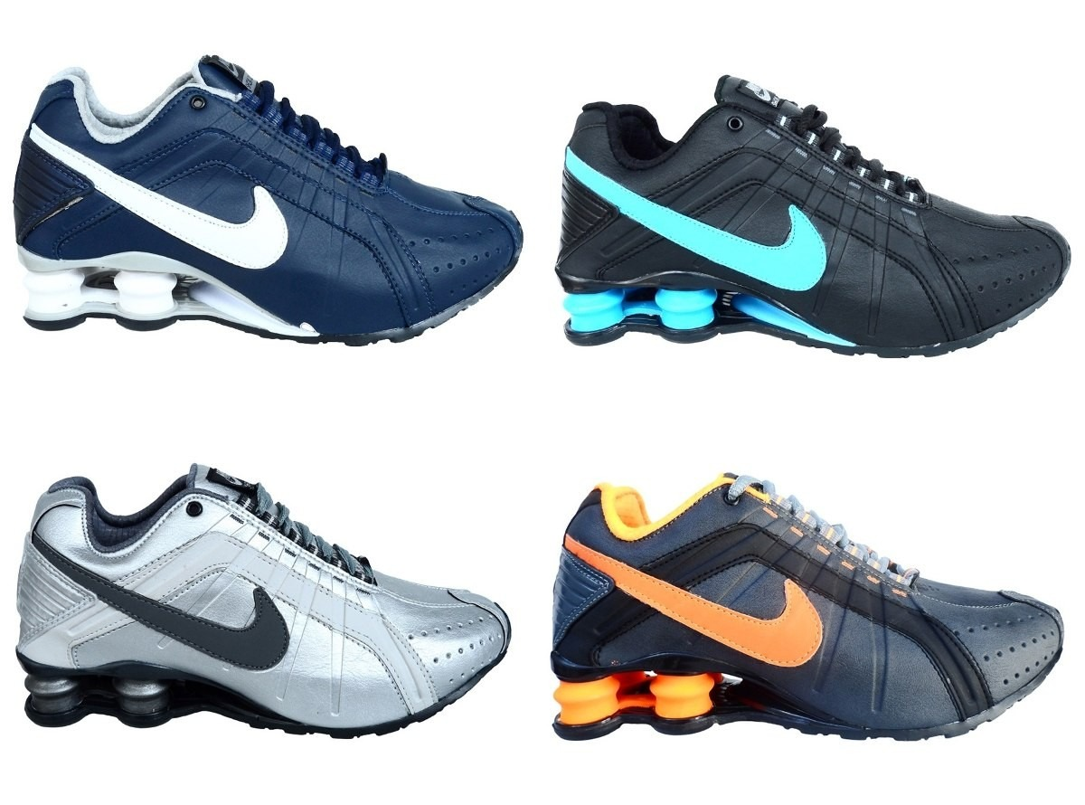 Tênis Importado Usa Masculino 100% Original Nike Shox Jr - R  399 01dc6b0087bfe
