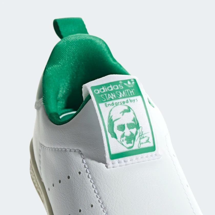 Tênis Infantil adidas Stan Smith 360 Branco E Verde Aq1112