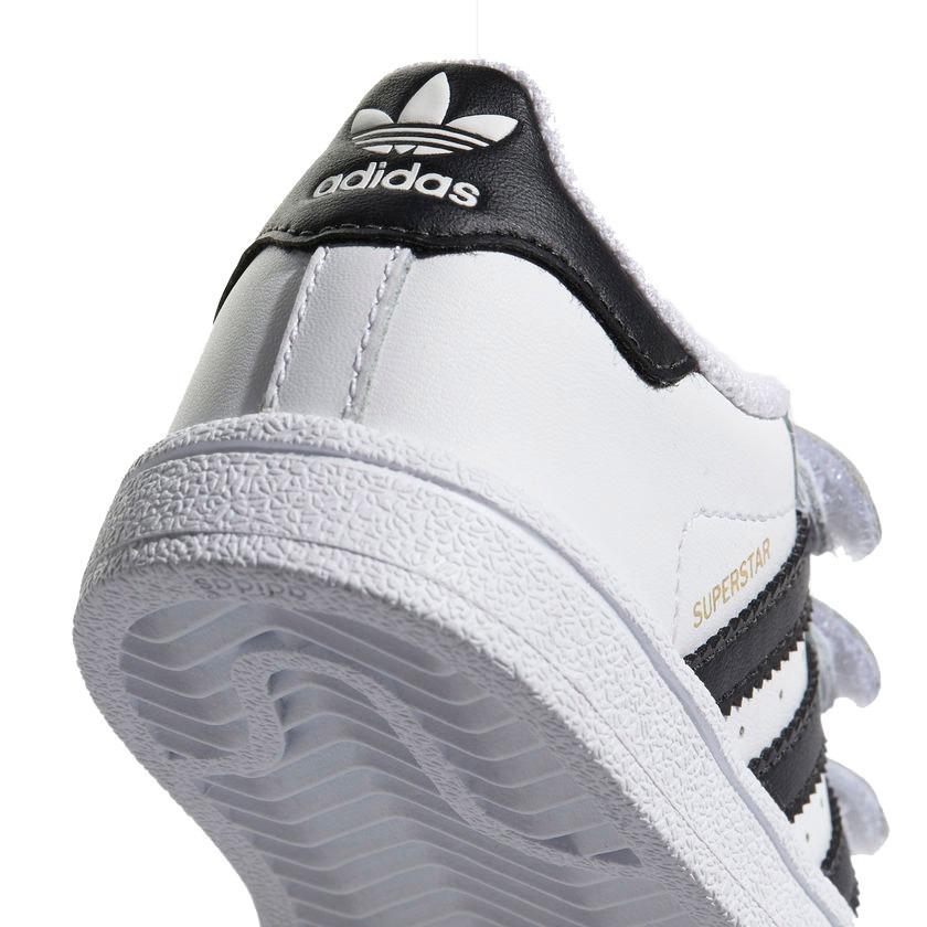 02c0964ae7c tênis infantil adidas superstar cf i branco e preto bz0418. Carregando zoom.