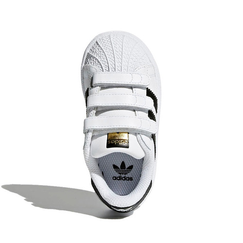 ... tênis infantil adidas superstar cf i branco e preto original. Carregando  zoom. best choice 088b2630791a6