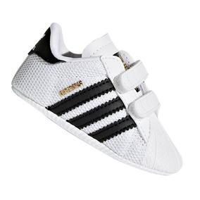 9da4cc02cf2 Tênis Infantil adidas Superstar Crib Branco E Preto Original