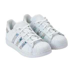 5914449caa3 Tenis Adidas Superstar Color Splash 33 Menino - Adidas no Mercado ...