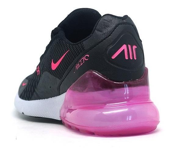 air max 270 preto e rosa