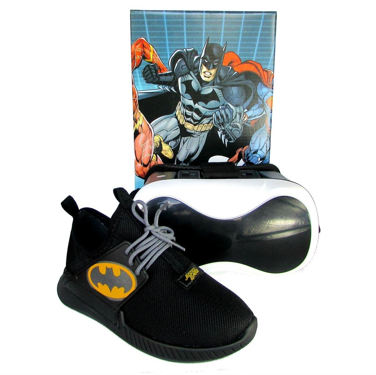 7400b936e84 tênis infantil batman liga justiça herói realidade virtual. Carregando zoom.