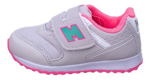 tênis infantil bebê feminino de velcro leve macio as163