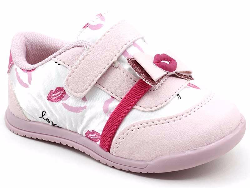 7e3ec97f20d tênis infantil bebe menina aliny 76220 rosa. Carregando zoom.