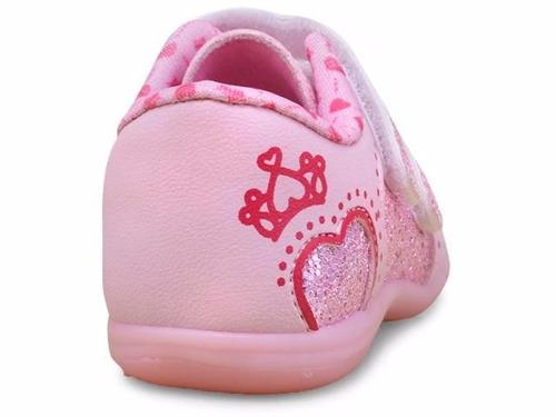 tênis infantil bebe menina kidy colors baby 0090704