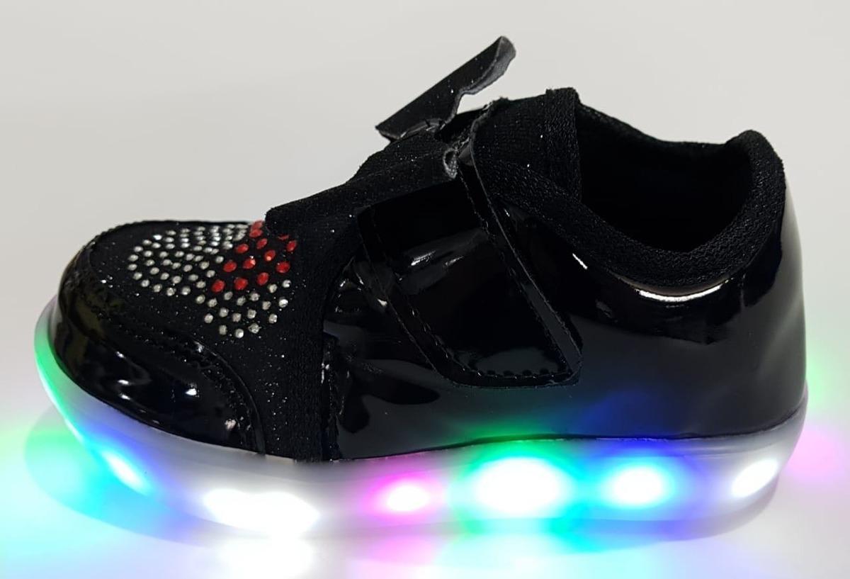 a83ad511ca5 Tênis Infantil Com Luzes De Led Promoção - R  65