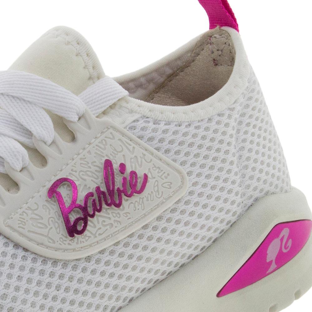 48f57333a tênis infantil feminino barbie glamour branco grendene kids. Carregando  zoom.