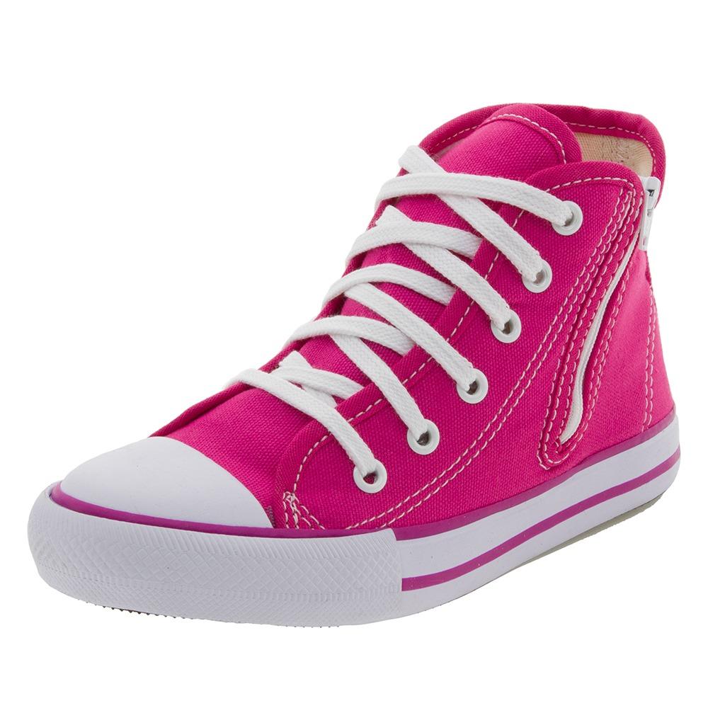 fa46cc1fee8 tênis infantil feminino cano alto rosa starzinho - 30ss033. Carregando zoom.