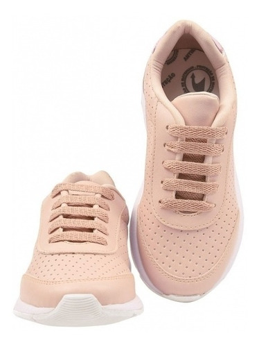 tênis infantil feminino jogging sapatenis casual eleganteria