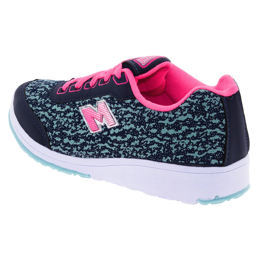 d1961a06d tênis infantil feminino marinho/pink minipé - mp2171. Carregando zoom.