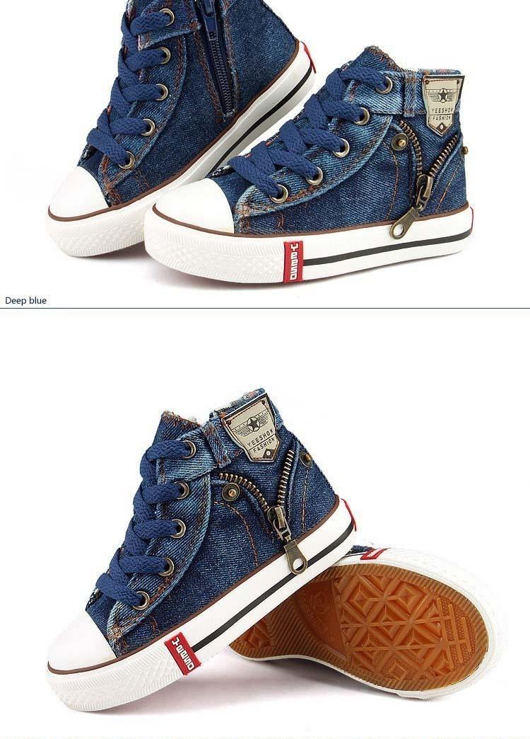6badc45206e tênis infantil jeans importado. Carregando zoom.