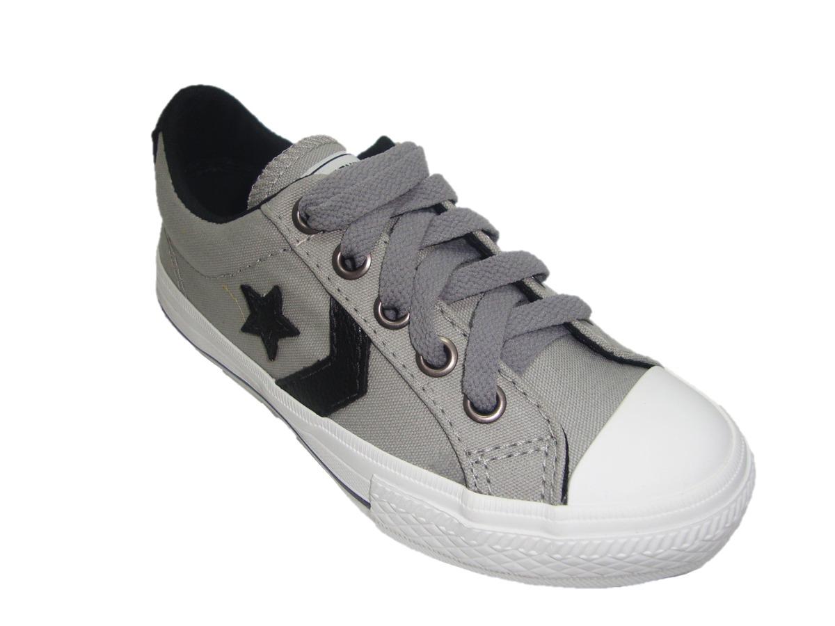 4f3b4b5b135 tênis infantil masculino converse all star cinza ko134016. Carregando zoom.