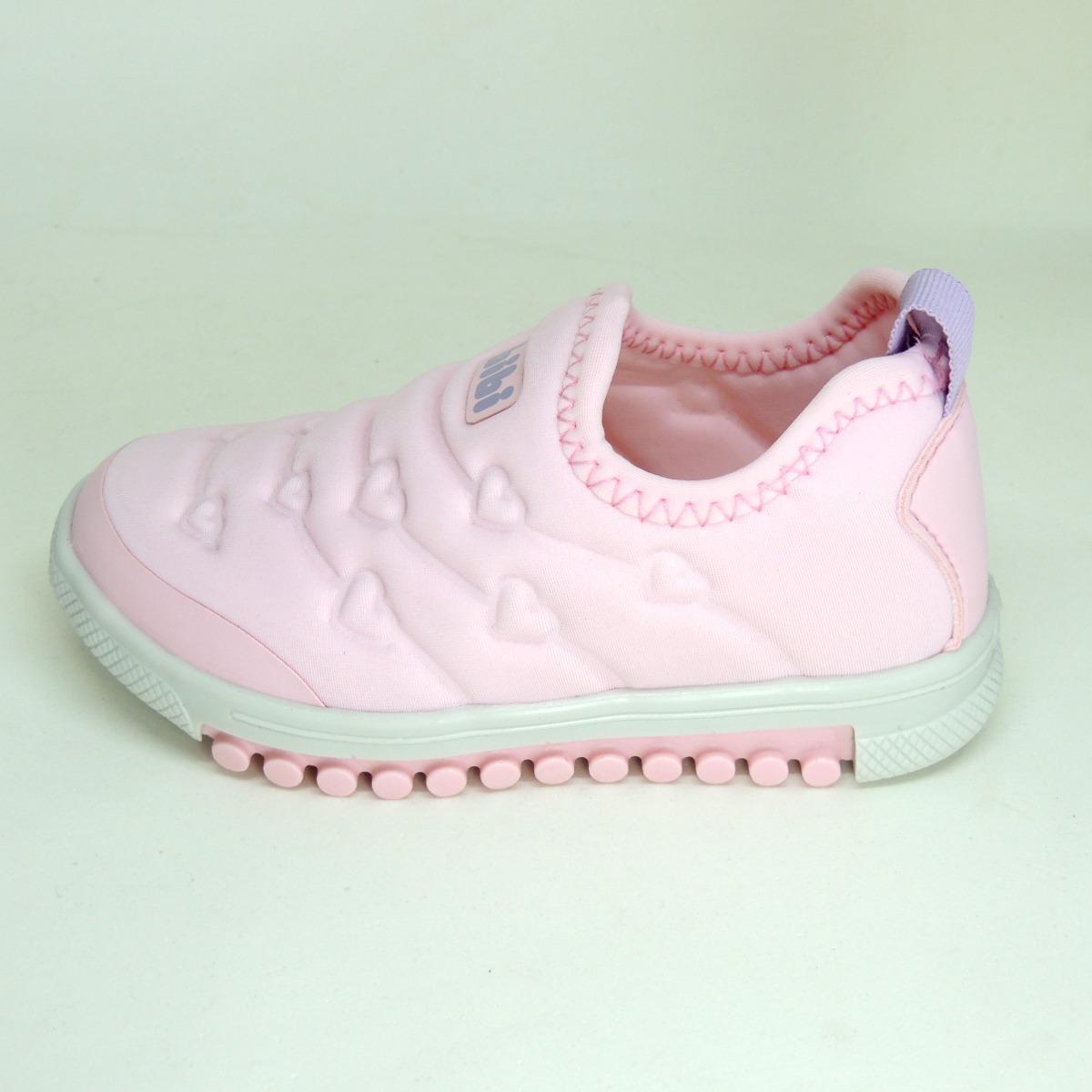 f308aed2ff9 tênis infantil menina bibi roller original sem cadarço rosa. Carregando  zoom.