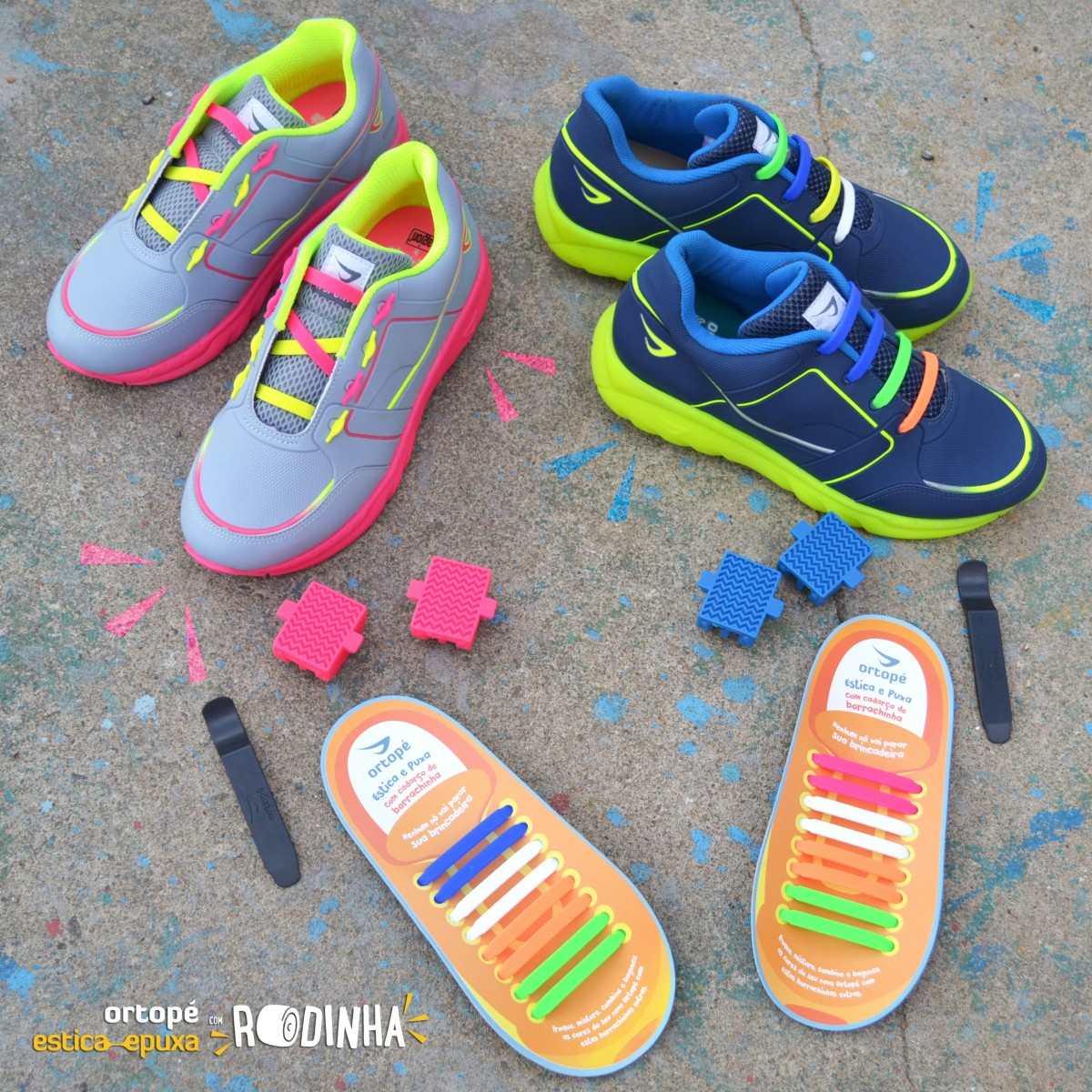 18baa20740 tênis infantil ortopé estica e puxa com rodinha 2200001. Carregando zoom.
