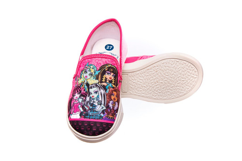 tênis  infantil personagens - monster high pronto envio