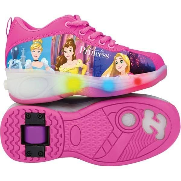 ad245e47d50 Tênis Infantil Princesas Disney Com Luzes E Rodinhas - Dtc - R  134 ...