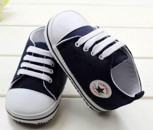 tênis infantil sapato para bebê all star branco / rosa/azul