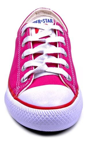 tênis infantil starzinho menina rosa estilo all star