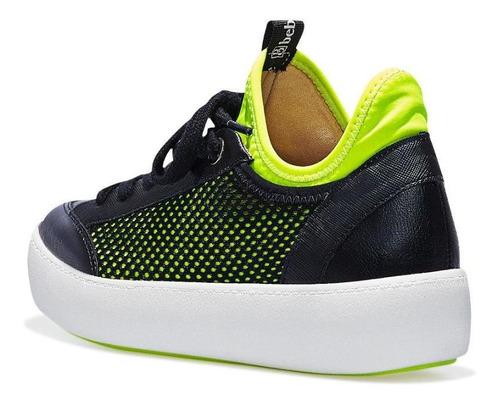 tênis jogging bebecê feminino solado pvc flatform conforto