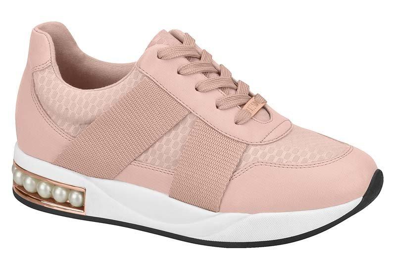 b043f68f1e tênis jogging casual feminino vizzano pérolas rosa 1291200. Carregando zoom.