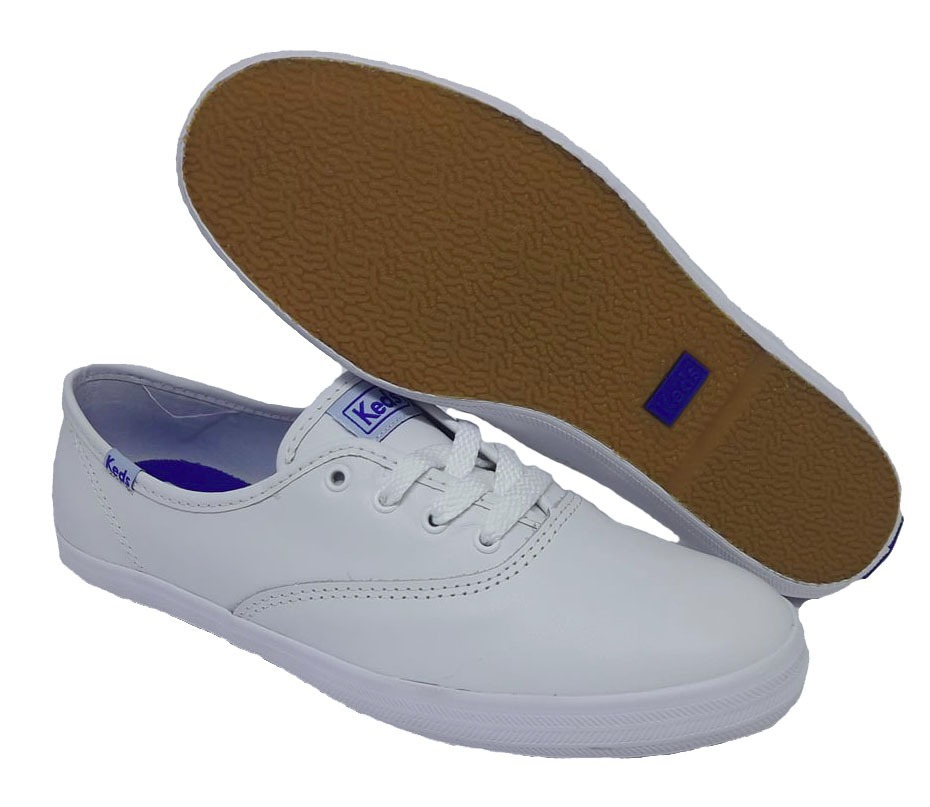 60e0c1041b tênis keds champion woman leather - branco. Carregando zoom.
