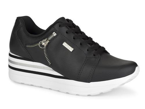 tênis kolosh c1402 sneaker feminino preto envio hoje!
