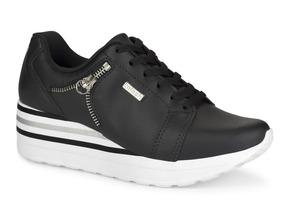 07f0463db4 Tênis Kolosh C1402 Sneaker Feminino Preto Envio Hoje!
